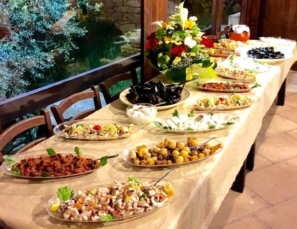 I nostri buffet per i tuoi eventi